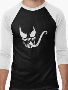 Venom face Men's Baseball ¾ T-Shirt