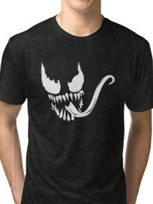 Venom face Tri-blend T-Shirt