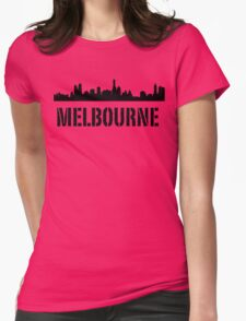 Higher Melbourne Womens Fitted T-Shirt