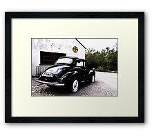 The Morris Minor  Framed Print