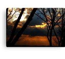 Ominous Horizon Canvas Print