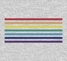 Rainbow Lines Kids Clothes