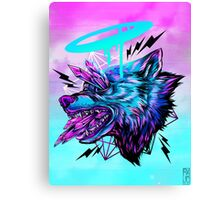 Crystal Wolf  Canvas Print