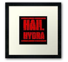 Hail Hydra Framed Print