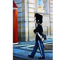 Guard on Patrol Photographic Print