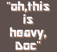 Heavy One Piece - Short Sleeve