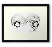 Looking Empty... Framed Print