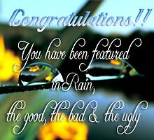featured banner challenge for Rain, the good, the bad & the ugly group by vigor