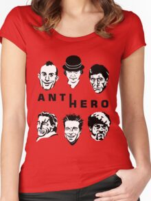 Anti-Hero Women's Fitted Scoop T-Shirt