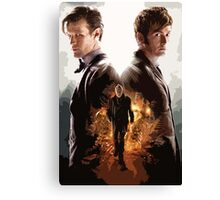 Doctor Who - Modern Graphic Canvas Print