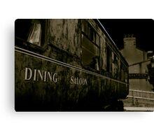 Downpatrick Dining Saloon Car Canvas Print
