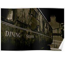 Downpatrick Dining Saloon Car Poster