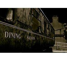Downpatrick Dining Saloon Car Photographic Print