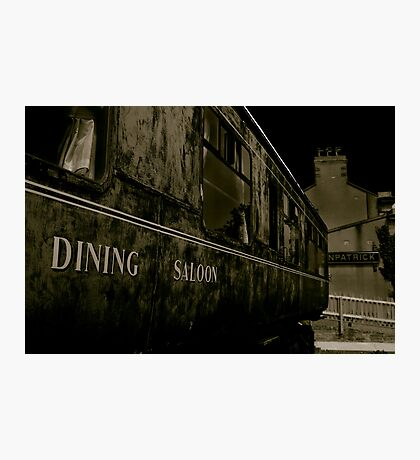 Downpatrick Dining Saloon Car Photographic Print