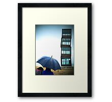 Beach Blocks Framed Print