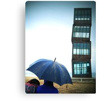 Beach Blocks Canvas Print