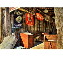 Perry's Mercantile Photographic Print