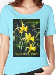 Wales Challenge Runner-up Banner Women's Relaxed Fit T-Shirt