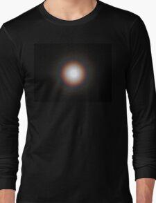 Supermoon Eclipse Rainbow Halo Long Sleeve T-Shirt