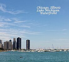 Chicago Post Card by WeeZie
