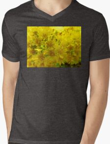 Yellow fun Mens V-Neck T-Shirt