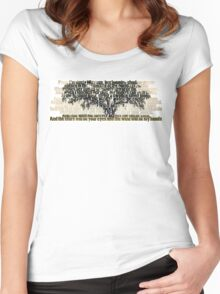 True Detective - Tree of Death Women's Fitted Scoop T-Shirt