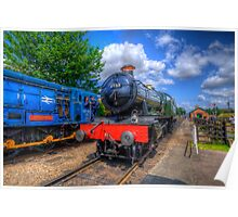 GWR 4900 Class 4953 Pitchford Hall Poster