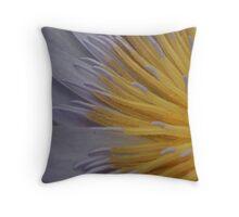 Striking yellow Throw Pillow