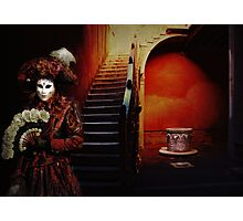 Red Carnival Photographic Print