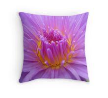 illuminating lily Throw Pillow