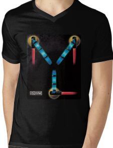 Back to the Future - Flux Capacitor Mens V-Neck T-Shirt