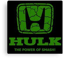 Hulk Honda 2 Canvas Print