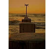 Findhorn Sunset. Photographic Print