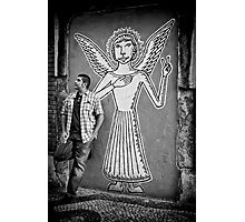 An angel came to earth Photographic Print