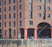 Albert Dock, Liverpool, Merseyside at River Mersey by Sarah Louise English