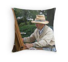 Portrait Of An Artist Throw Pillow
