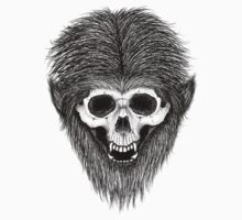 Stack's Skull Sunday No. 3 (Wolf Man - Halloween Special) Kids Clothes