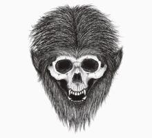 Stack's Skull Sunday No. 3 (Wolf Man) Baby Tee