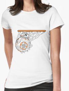 BB-8 Slam Dunk! Womens Fitted T-Shirt