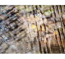 (Digital calendar) water abstract 3 Photographic Print
