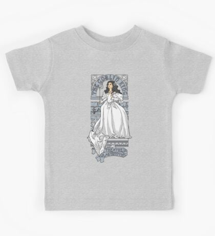 Theatre de la Labyrinth shirt v2 Kids Tee