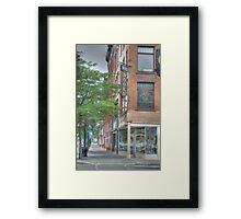 Mando Books - Cortland, NY Framed Print