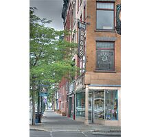 Mando Books - Cortland, NY Photographic Print