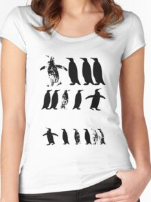 ZOOlogy - Penguin I Women's Fitted Scoop T-Shirt
