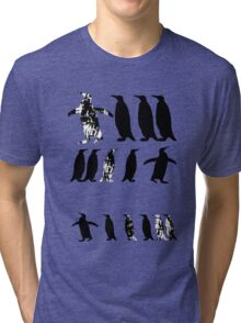 ZOOlogy - Penguin I Tri-blend T-Shirt