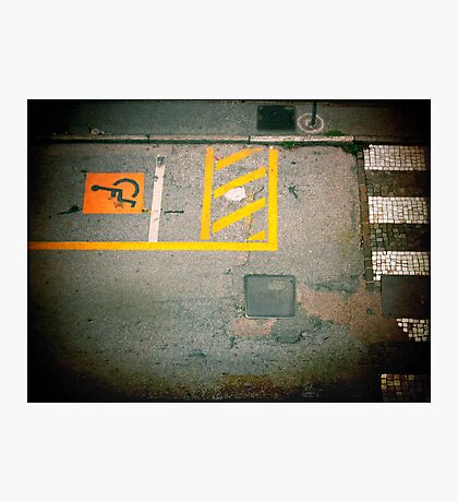Urban Signs Photographic Print
