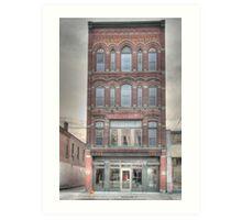The Beard Building - Cortland, NY Art Print
