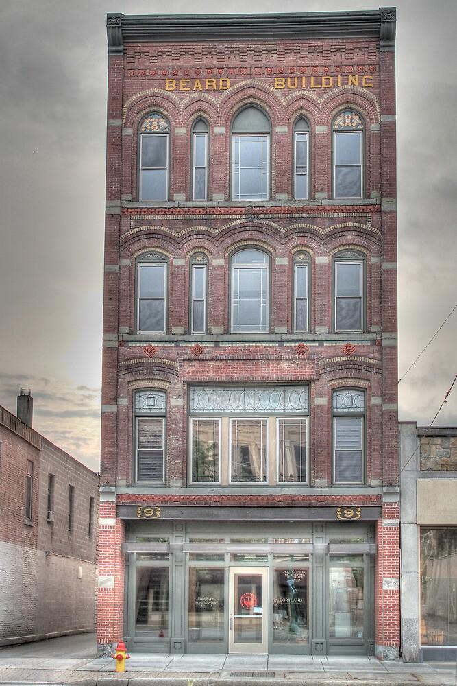 The Beard Building - Cortland, NY by Edith Reynolds