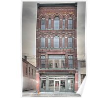 The Beard Building - Cortland, NY Poster