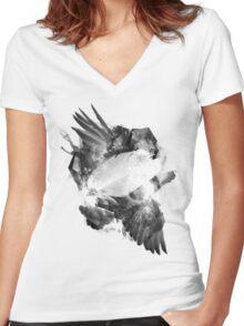 Artemis Women's Fitted V-Neck T-Shirt